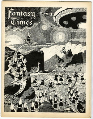 FANTASY TIMES #200 (1954) FANZINE / LIT-SCIENCE FICTION ZINE