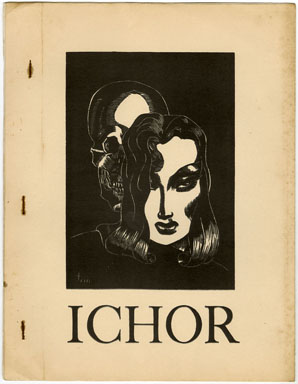 ICHOR #3 (1940s) SCIENCE FICTION FANZINE / POETRY / DALE HART