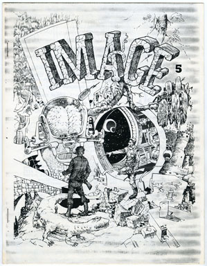 IMAGE #5 (PHOTOCOPY) FANZINE (1962) HARVEY KURTZMAN INTERVIEW
