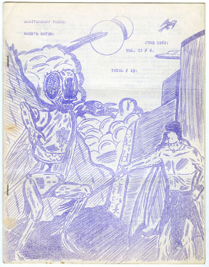 NORB'S NOTES #19 (1962) EDGAR RICE BURROUGHS FANZINE