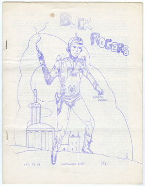 NORB'S NOTES #23 (1962) EDGAR RICE BURROUGHS FANZINE/ BUCK ROGERS COVER