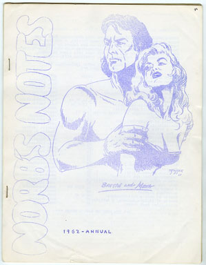 NORB'S NOTES #24 (1962) EDGAR RICE BURROUGHS FANZINE