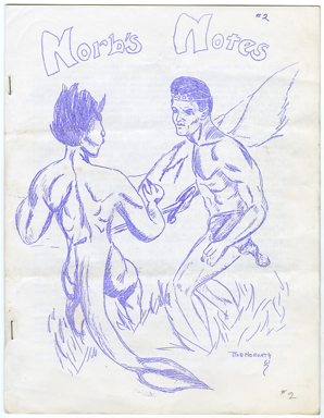 NORB'S NOTES #2 (1961) EDGAR RICE BURROUGHS FANZINE