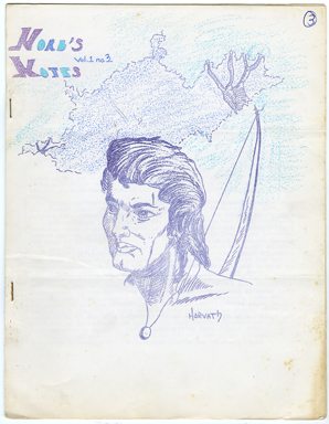 NORB'S NOTES #3 (1961) EDGAR RICE BURROUGHS FANZINE
