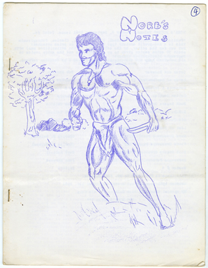 NORB'S NOTES #4 (1961) EDGAR RICE BURROUGHS FANZINE
