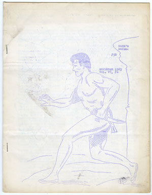 NORB'S NOTES #56 (1963) EDGAR RICE BURROUGHS FANZINE