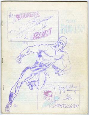 ROCKET'S BLAST COMICOLLECTOR #35 (1965) FANZINE / RBCC / RONN FOSS PHANTOM COVER