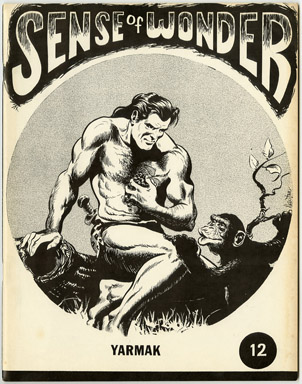 SENSE OF WONDER #12 FANZINE (1972) KIRBY EISNER NEWTON