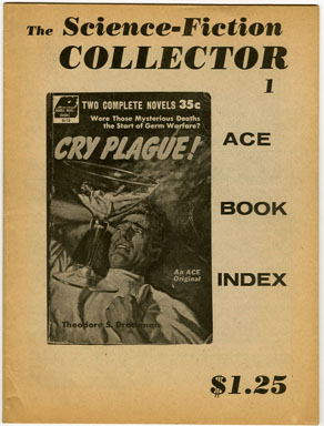 SCIENCE FICTION COLLECTOR #1 (1976) FANZINE / ACE SF BOOKS INDEX