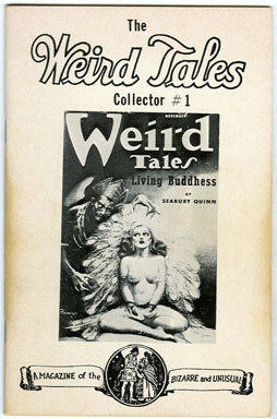 WEIRD TALES COLLECTOR #1 (1977) FANZINE / INDEX OF EARLY ISSUES