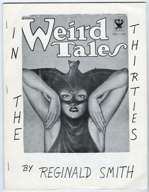 WEIRD TALES IN THE THIRTIES #NN (1966) FANZINE / ROBERT E. HOWARD / CONAN/BLOCH