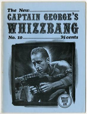 WHIZZBANG #10 FANZINE (1970) DOC SAVAGE BOGART COMICS