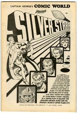 CAPTAIN GEORGE COMIC WORLD #25/26 (1970) NOSTALGIA FANZINE SILVER STARR/STANLEY PITT