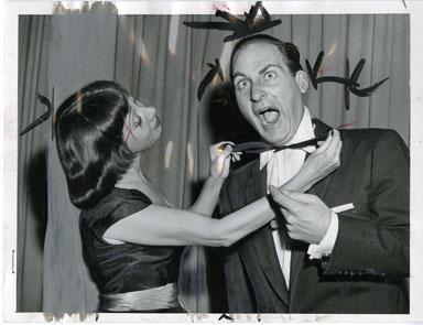 NEWS PHOTO: SID CAESAR AND IMOGENE COCA (1958)