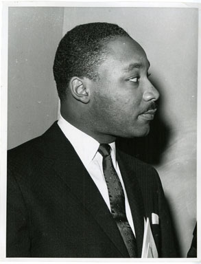 NEWS PHOTO: REVEREND MARTIN LUTHER KING (1960)