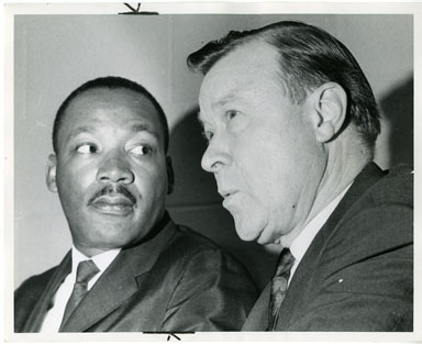 NEWS PHOTO: MARTIN LUTHER KING SPEAKS/FREEDOM RALLY 1966