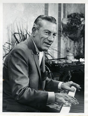 NEWS PHOTO: COMPOSER/ACTOR HOAGY CARMICHAEL ON TODAY SHOW (1964)
