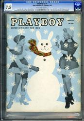 PLAYBOY VOL. 2 #3 (1955) CGC VF- 7.5 OWW JAYNE MANSFIELD