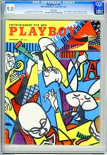 PLAYBOY v1 #10 (1954) CGC VF/NM 9.0 WHT Pgs - JACKIE RAINBOW - GINA LOLLOBRIGIDA
