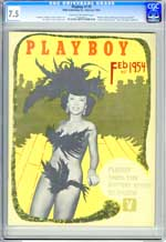 PLAYBOY v1 #3 (1954) CGC VF- 7.5 MARILYN WALTZ as MARGARET SCOTT - YVONNE MENARD