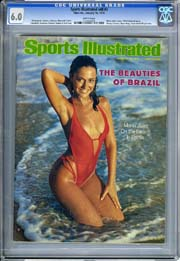 SPORTS ILLUSTRATED VOL. 48 #3 (1978) CGC FN 6.0 CHERYL TIEGS FISHNET SWIMSUIT