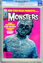 FAMOUS MONSTERS OF FILMLAND #143 (1978) CGC NM- 9.2 OWW Pages - ALIEN FACTOR