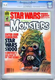 FAMOUS MONSTERS #147 (1978) CGC NM 9.4 OWW Pgs - BARRY ATWATER - THRILLER