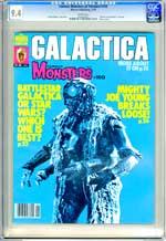 FAMOUS MONSTERS OF FILMLAND #150 (1979) CGC NM 9.4 WHT Pg - BATTLESTAR GALACTICA