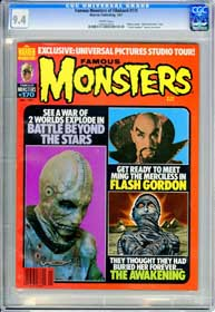 FAMOUS MONSTERS #170 (1981) CGC NM 9.4 WHT Pg - ALTERED STATES - FLASH GORDON