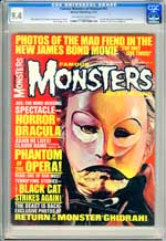 FAMOUS MONSTERS OF FILMLAND #47 (1967) CGC NM 9.4 OWW Pgs PHANTOM OF THE OPERA