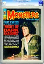 FAMOUS MONSTERS OF FILMLAND #88 (1972) CGC VF/NM 9.2 OW - NIGHT OF DARK SHADOWS
