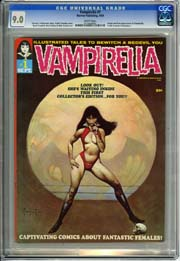 VAMPIRELLA #1  (1969) CGC VF/NM 9.0 Origin and First Appearance of Vampirella