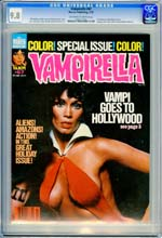 VAMPIRELLA #67 (1978) CGC NM/MT 9.8 OWW - BARBARA LEIGH