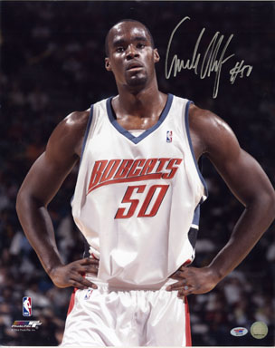 EMEKA OKAFOR - AUTOGRAPHED LARGE-FORMAT COLOR PHOTO (PORTRAIT) w/COA BASKETBALL