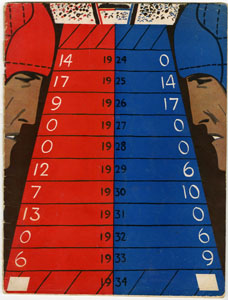 COLUMBIA UNIVERSITY VS CORNELL - OFFICIAL GAME PROGRAM (FOOTBALL) 11-3-1934