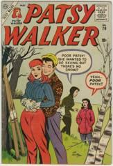 PATSY WALKER #70 - Al HARTLEY Art - 1957 Atlas Comic
