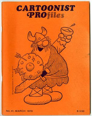 CARTOONIST PROfiles #41 (1979) FANZINE BIL KEANE  KLEIN