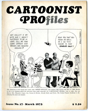 CARTOONIST PROfiles #17 (1973) FANZINE CHESTER GOULD