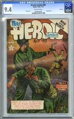 HEROIC COMICS #82 (1953) CGC NM 9.4 OW Pgs - FILE COPY