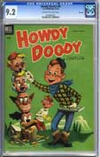 HOWDY DOODY #20 (1953) CGC NM- 9.2 OWW Pgs FILE COPY