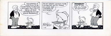 BILL YATES - PROF PHUMBLE DAILY ART 07-25-61 BIG TAXES