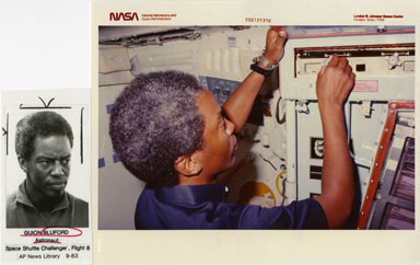 NASA: ASTRONAUT GUION BLUFORD JR - VINTAGE STILLS 1983