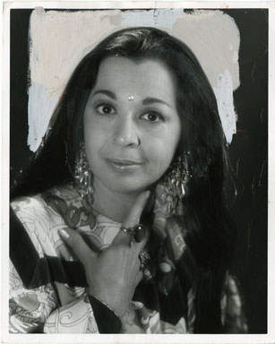 NEWS PHOTO: CLEO ABUIN (ASTROLOGER) VINTAGE STILL 1971