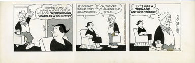 BILL YATES - PROF PHUMBLE DAILY ART 08-12-61 MOVIE