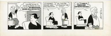 BILL YATES - PROF PHUMBLE DAILY ART 08-12-61 MOVIE