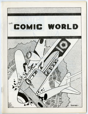 COMIC WORLD #09 FANZINE (1969) BLUE TRACER Military Comics