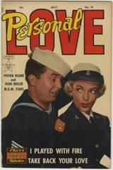 PERSONAL LOVE #16 - VIVIAN BLAINE Photo Cover 1952