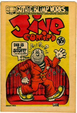 GOTHIC BLIMP WORKS #1 (1969) ROBERT CRUMB JIVE COMICS