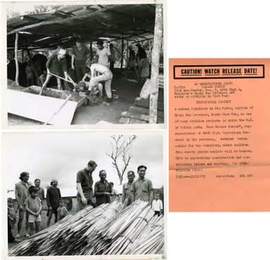 AP NEWS PHOTOS: SELF-HELP PROJECTS / VIET NAM (1965)