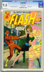 FLASH #203 (1971) CGC NM/MT 9.8 OW Pages ORIGIN of IRIS